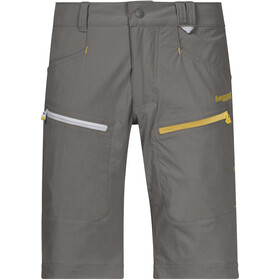 Bergans Utne Shorts Jóvenes, green mud/waxed yellow